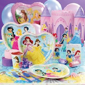 Disney Princess Birthday Supplies | Princess Loves Pink